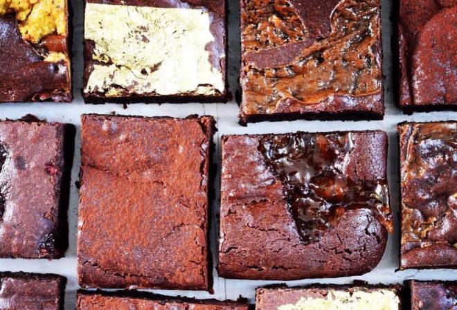 B Is For Brownie chocolate cake
