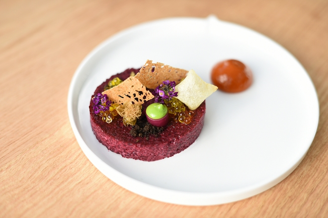 Beetroot Tartare Eneko at One Aldwych