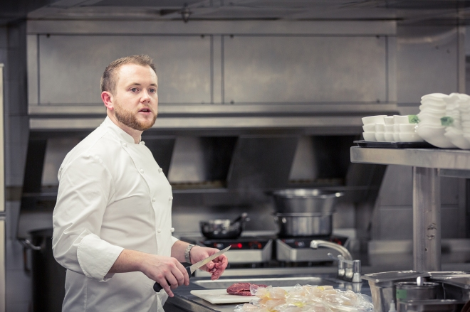 Niall Keating chef Whatley Manor
