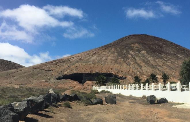 Volcano Woertens crater Lanzarote