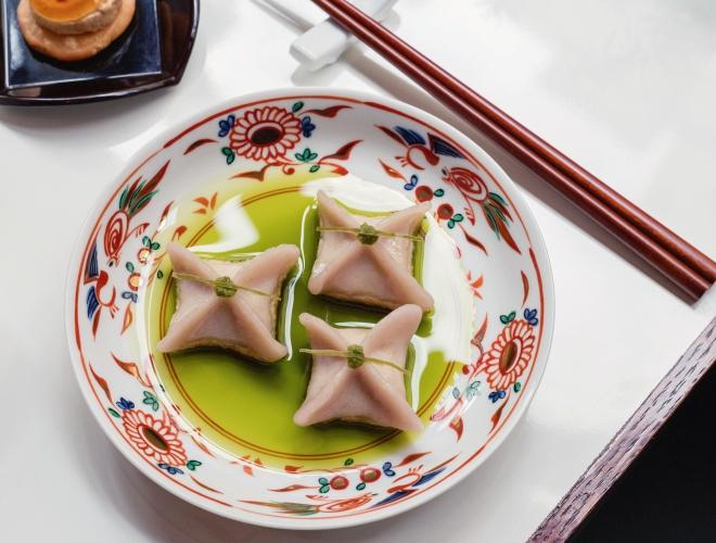 Xu Gold Coin and Taro Dumpling by CarolSachs-