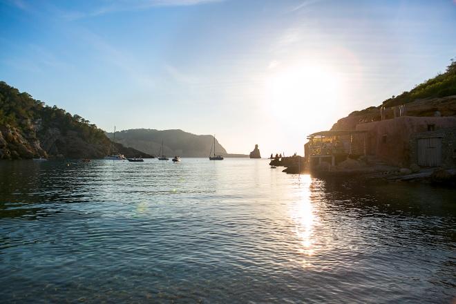 Benirras beach Ibiza