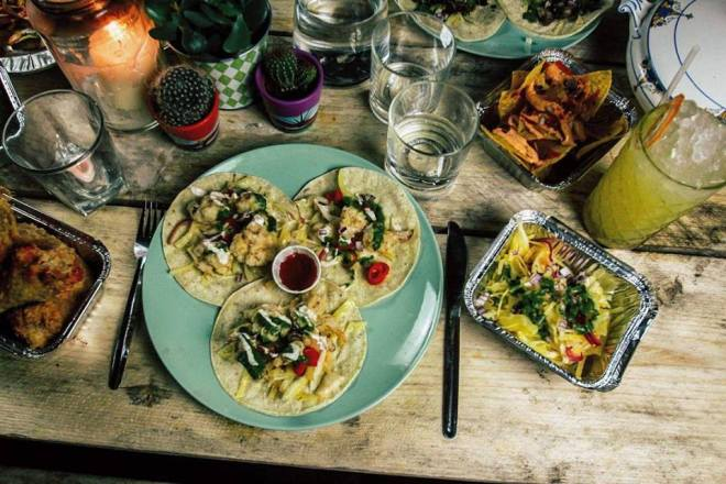 Holy Mountain Kitchen mexican food East Village Leeds