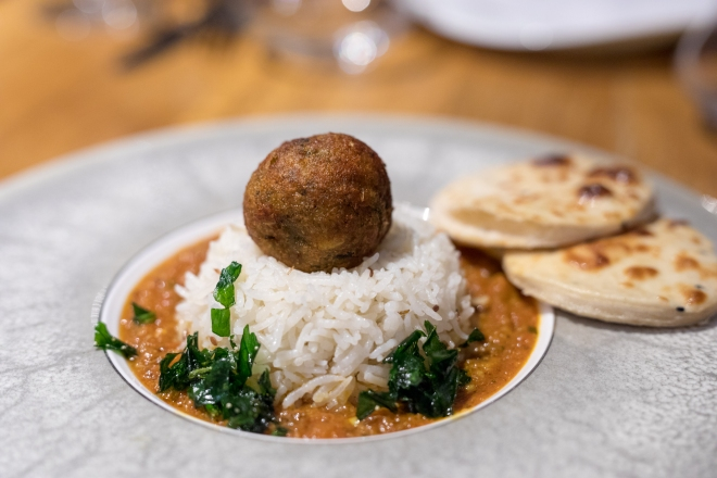Prashad Indian vegetarian restaurant kofta