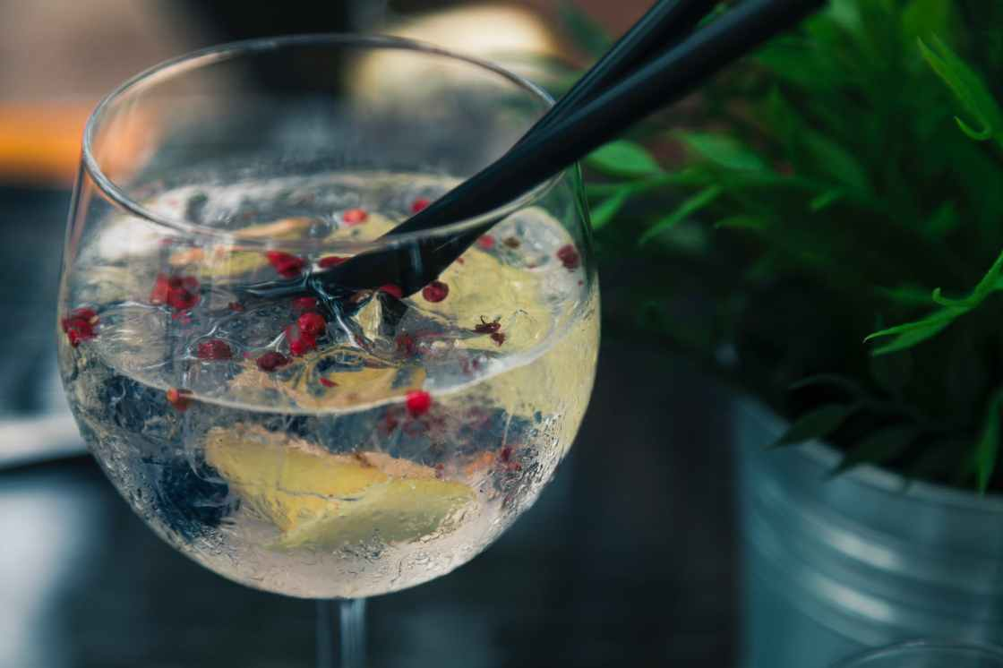 gin and tonic by Peter Fazekas via Pexels.com