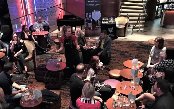 Fever Tree's gin masterclass at Victoria Gate Casino