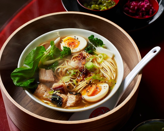 Fakeaway manual ramen soup noodle recipe