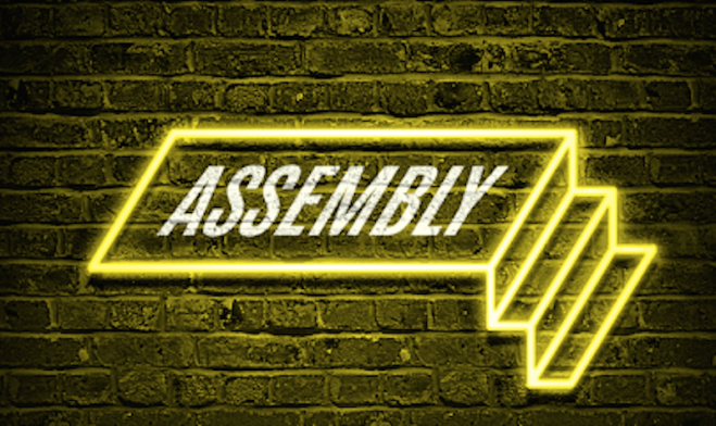 Assembly Underground Leeds food and drink venue logo