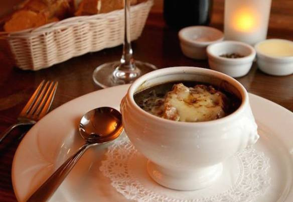onion soup Kendell's Bistro french restaurant Leeds