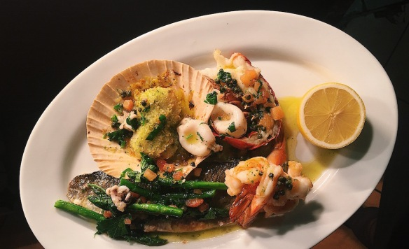 seafood Kendell's Bistro french restaurant Leeds