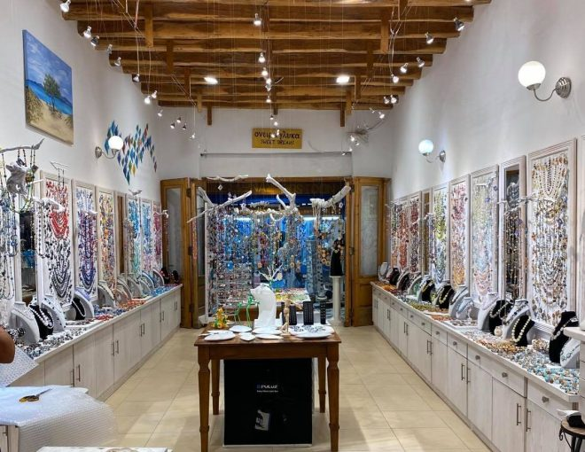 Onira Glika jewellery boutique Naxos Cyclades Greece