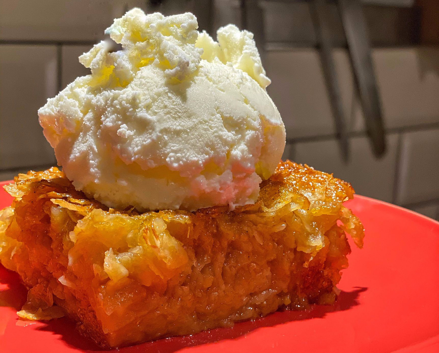 Portokalopita - Greek orange pie cake recipe